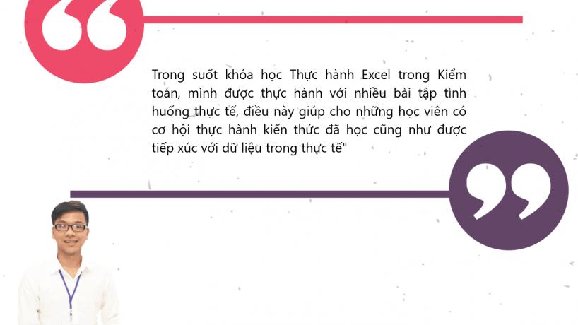 Cảm nhận học viên: Nguyễn Minh Diện