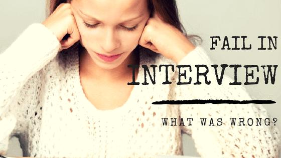 Thất bại trong phỏng vấn – bạn đã sai ở điểm nào?