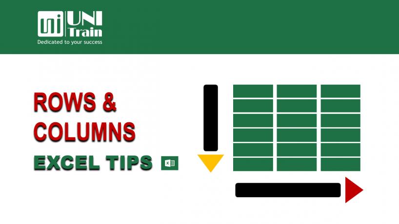 Chỉnh sửa hàng và cột hiệu quả nhất chỉ với phím tắt trong Excel