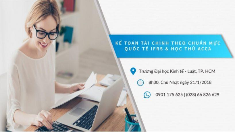 Hội thảo Kế toán tài chính theo chuẩn IFRS và Học thử ACCA cùng UniTrain