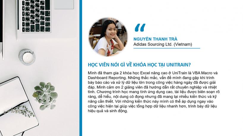 Cảm nhận học viên: Nguyễn Thanh Trà