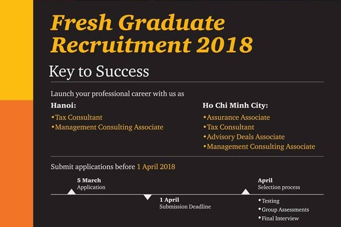 PwC – Fresh Graduate Recruitment Programme 2018
