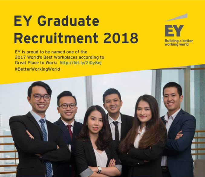 [HN, HCM] I EY Graduate Recruitment Program 2018