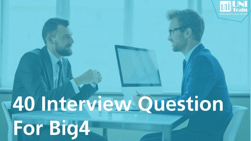 Tổng hợp 40 câu hỏi phỏng vấn nghề Kiểm toán