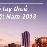 Sổ tay thuế Việt Nam 2018 của Pwc