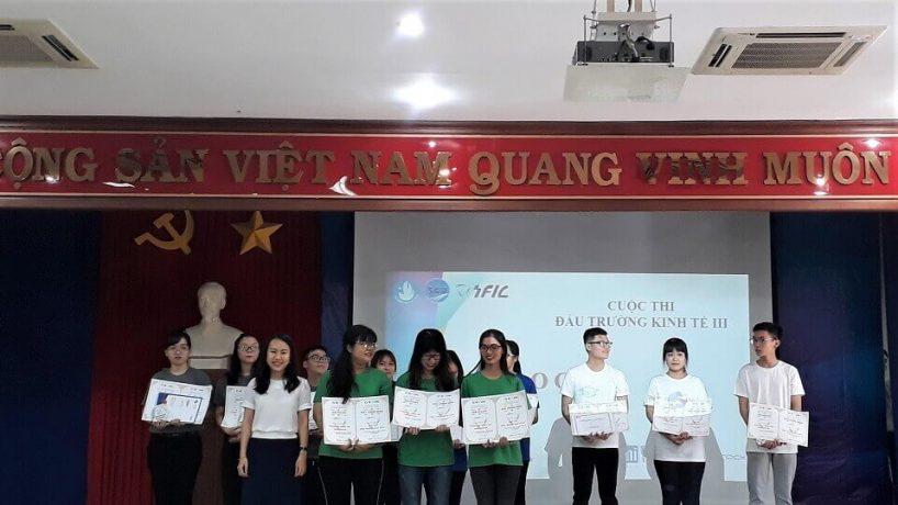 """Chung kết cuộc thi """"Đấu trường kinh tế lần 3 – 2018"""" – SFIC – Đại học Sài Gòn"""