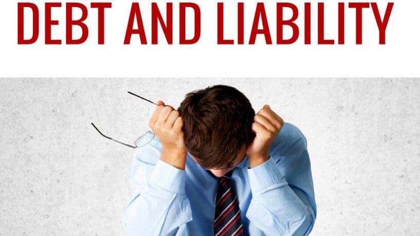 "Sự khác nhau giữa ""debt"" và ""liablility"""