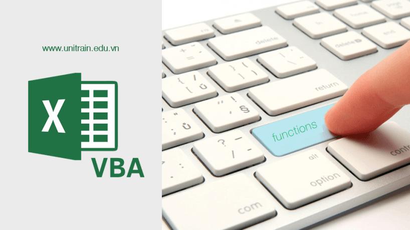 VBA – Các tính năng hỗ trợ trong Excel