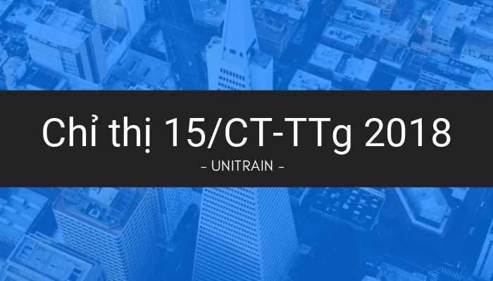 Chỉ thị 15/CT-TTg 2018 về tổ chức triển khai thực hiện hiệu quả Luật Hỗ trợ doanh nghiệp vừa và nhỏ