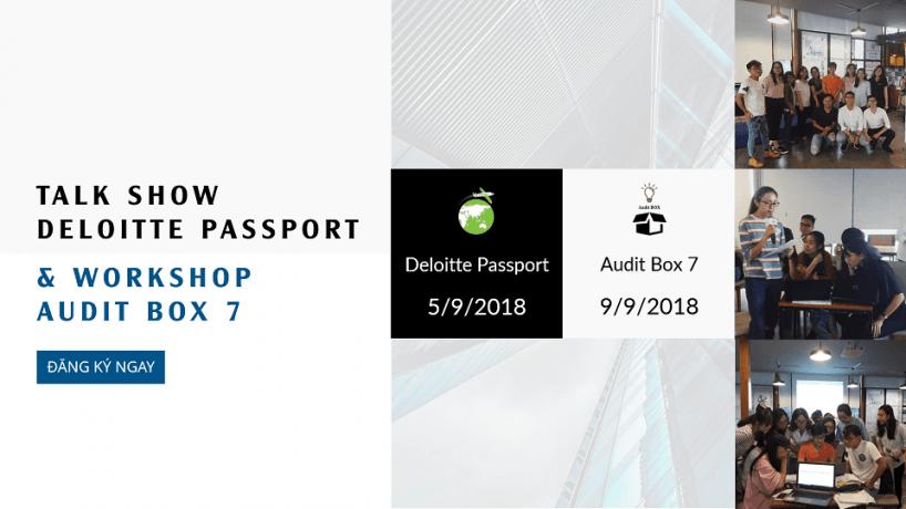 Talk Show Deloitte Passport & Workshop Audit Box 7
