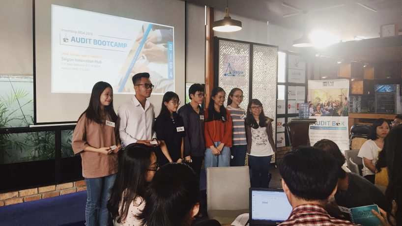 Recap sự kiện Audit Bootcamp – First look in a long run at Big4