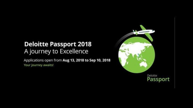 CHƯƠNG TRÌNH DELOITTE PASSPORT 2018