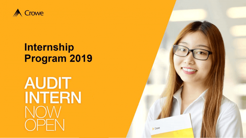 [Internship Program 2019] I Audit Intern Recruitment 2019 – Crowe Vietnam