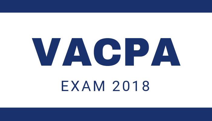 Thông báo về kỳ thi kiểm toán viên, kế toán viên năm 2018