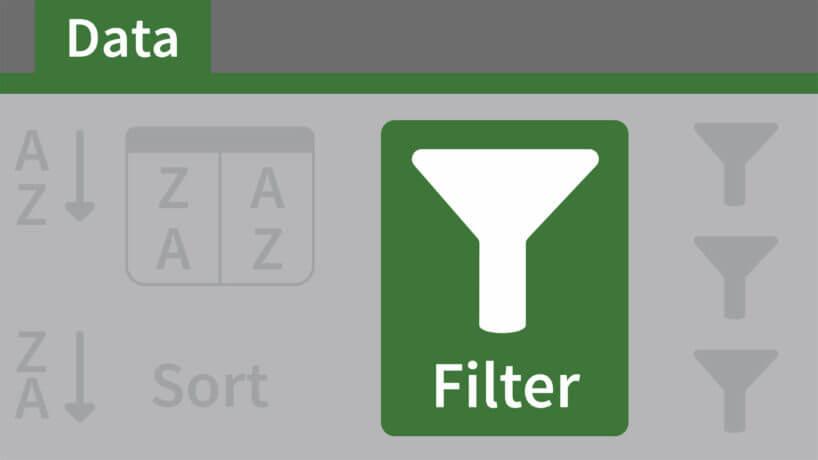 Mẹo lọc nhanh dữ liệu trong Excel bằng công cụ Filter