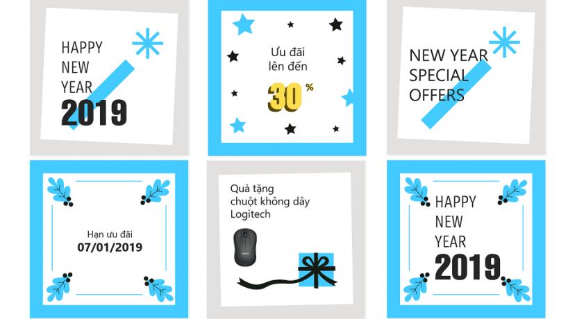 Chương trình ưu đãi Năm mới 2019