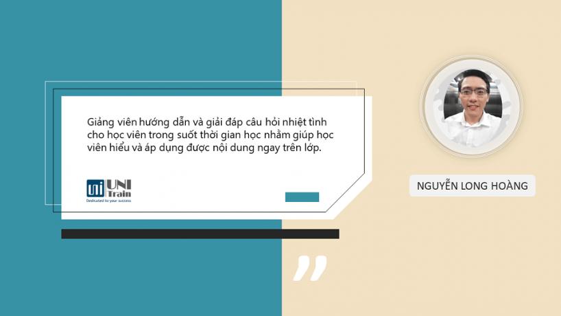 Cảm nhận học viên: Nguyễn Long Hoàng