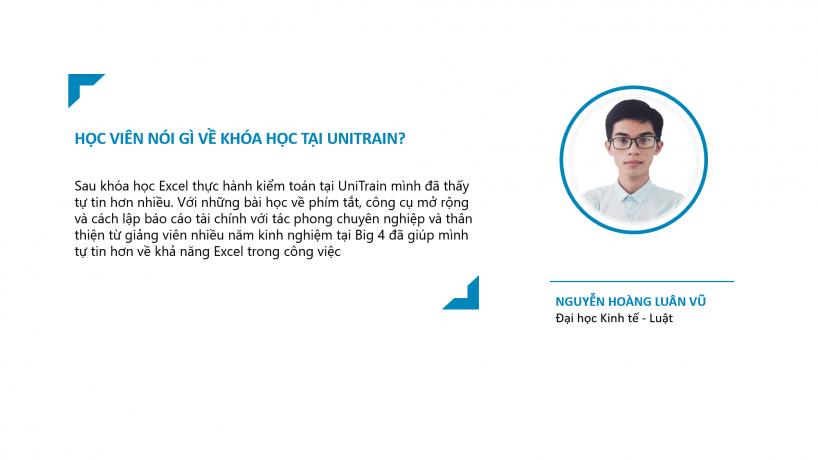 Cảm nhận học viên: Nguyễn Hoàng Luân Vũ