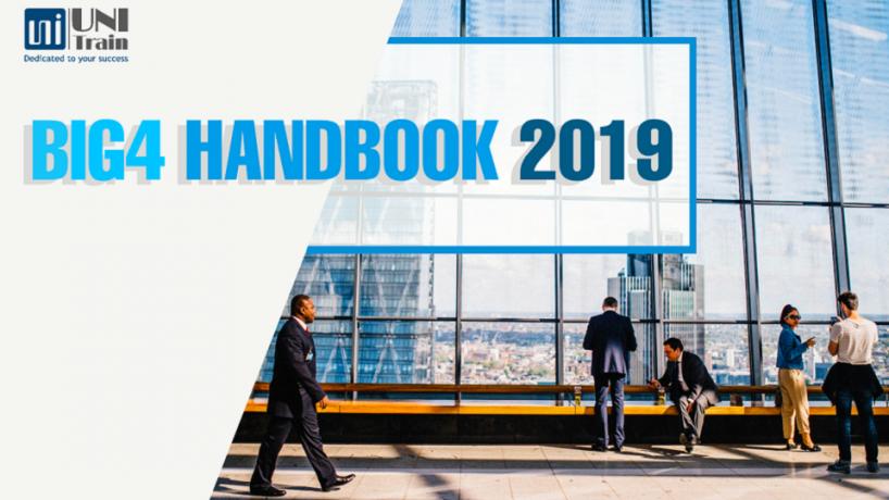 Tặng tài liệu cẩm nang Big 4 Handbook 2019