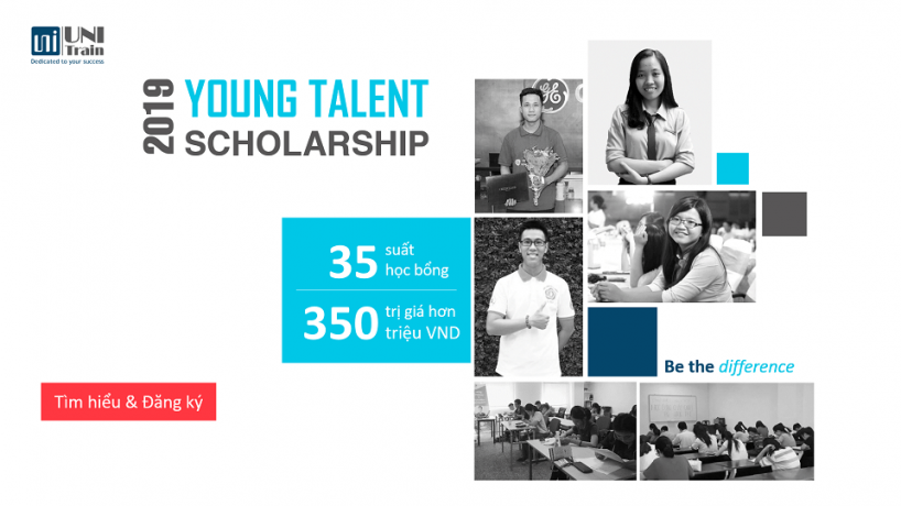 Học bổng UniTrain – Young Talent Scholarship 2019