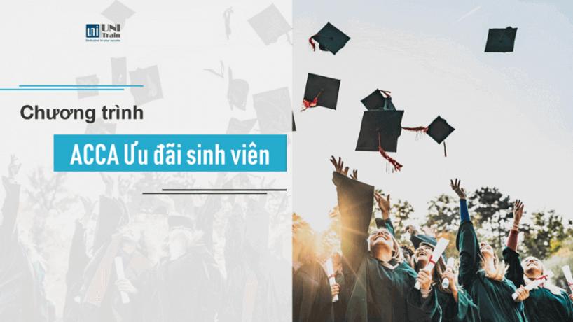 Ưu đãi ACCA đặc biệt dành cho sinh viên các trường đại học