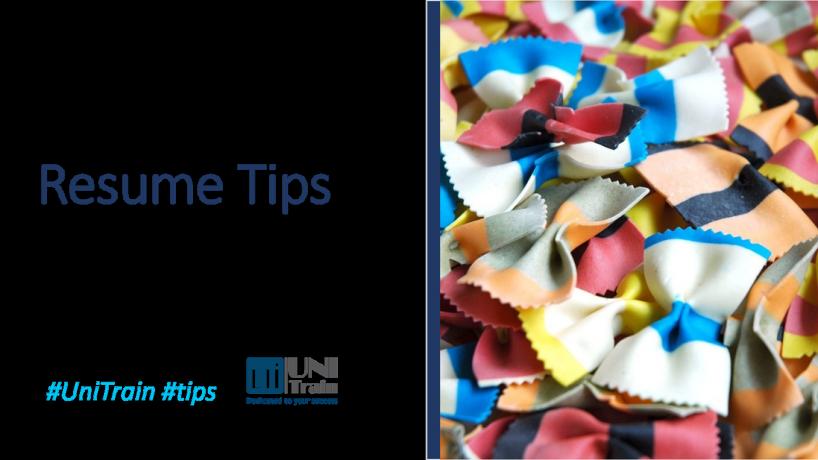 7 tips hữu ích để cập nhật Resume của bạn