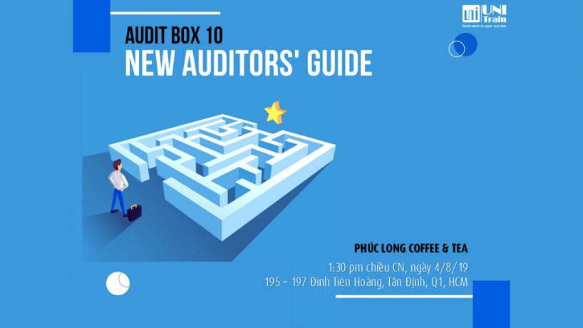 Coffee Talk Audit Box 10 – New auditors' Guide