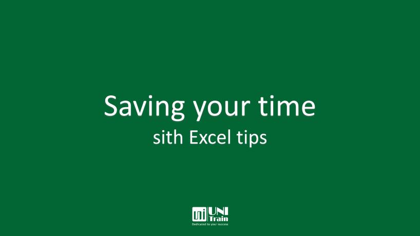 Mẹo tiết kiệm thời gian khi dùng Microsoft Excel (Phần 2)