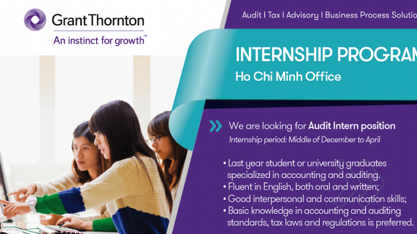 [Grant Thornton] Audit Internship Program