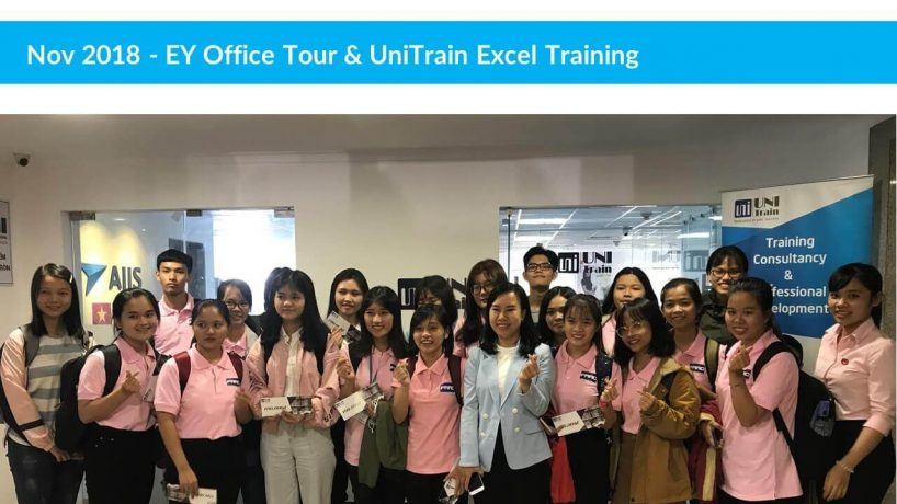 [Recap] Sự kiện EY Office Tour & UniTrain Training Excel