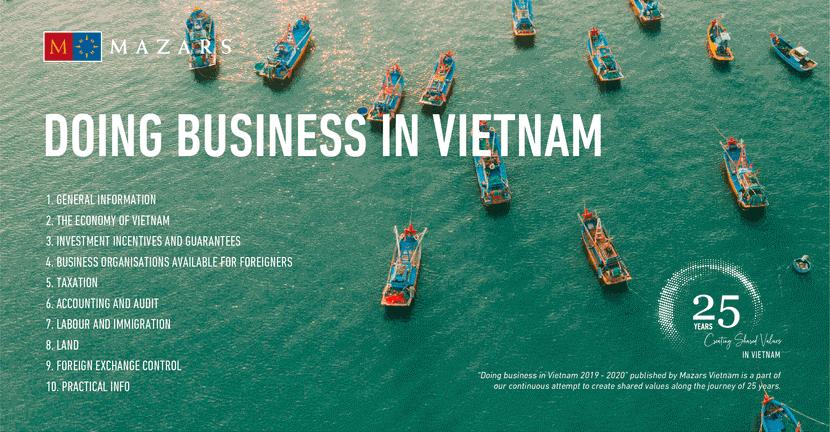 Download tài liệu Doing Business Guide in Vietnam 2019-2020 theo Mazars