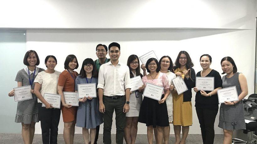 Pepsico phối hợp với UniTrain tổ chức khóa học Excel for Professionals