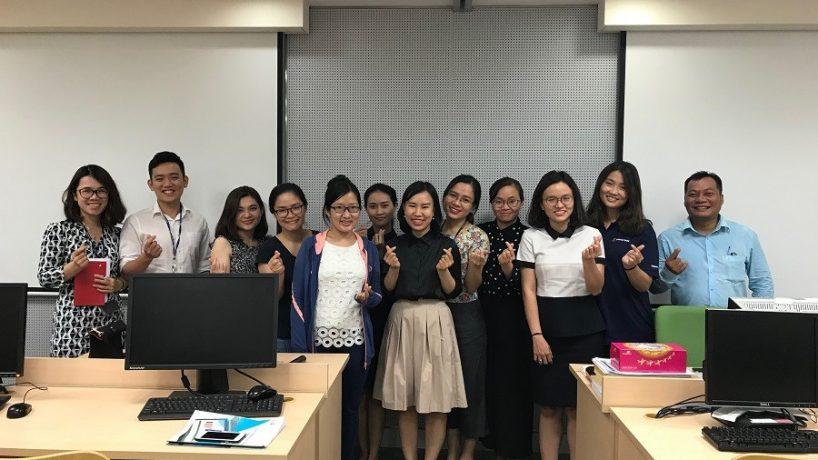 Hoàn thành chương trình đào tạo Excel for Analysts cho Shinhan Việt Nam