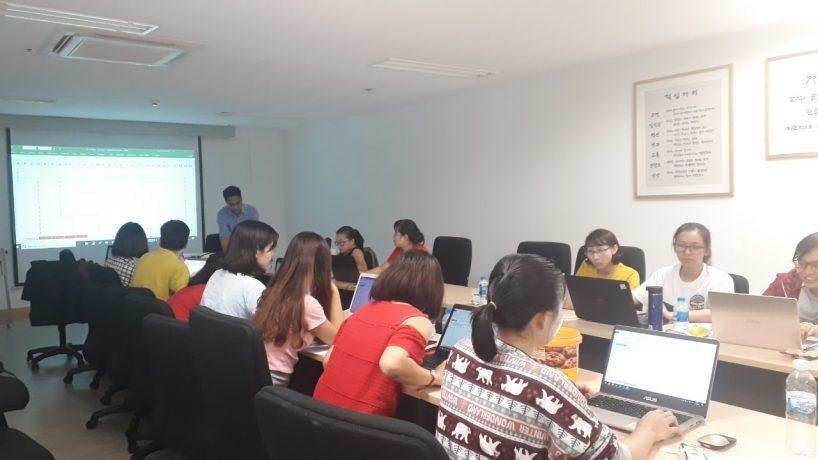 Đào tạo Kỹ năng ứng dụng Excel for Finance Professionals cho E-Mart Việt Nam