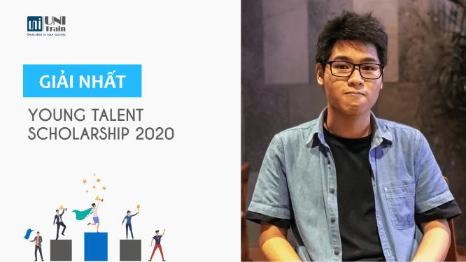 Cảm nhận Giải nhất học bổng Young Talent Scholarship 2020