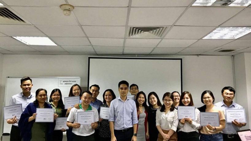 Thành Thành Công chọn UniTrain làm đối tác đào tạo Ứng dụng Dashboard Reporting trong Excel
