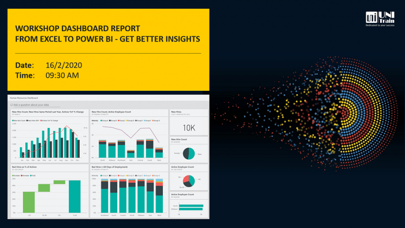 Workshop Dashboard report in Power BI vs Excel – Get better insights