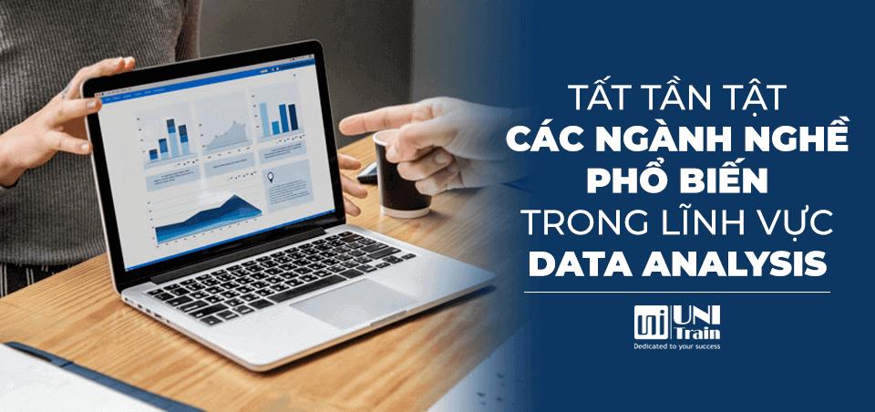 Tất tần tật các ngành nghề phổ biến trong lĩnh vực Data Analysis