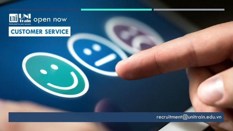 UniTrain tuyển dụng Nhân viên chăm sóc khách hàng (Customer Service)