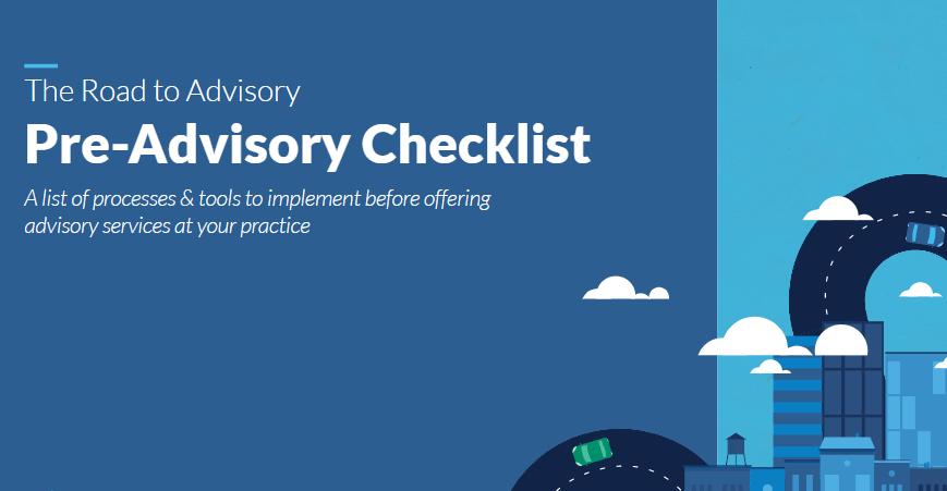 Download tài liệu The road to advisory: Pre advisory checklist