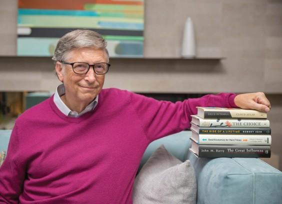 5 cuốn sách Bill Gates khuyên đọc mùa hè này