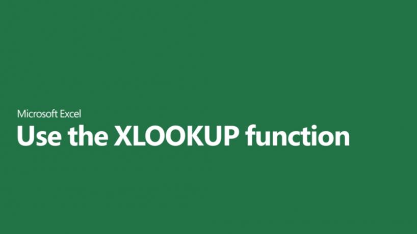 Cách sử dụng XLOOKUP và ví dụ
