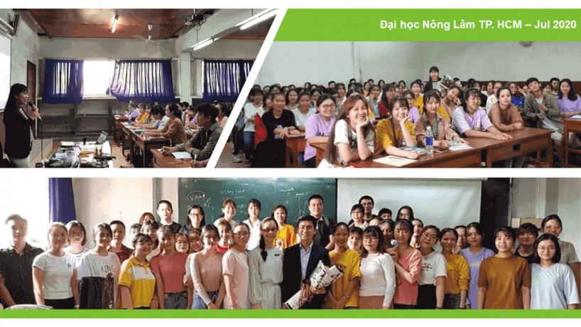 [Recap] Chuỗi sự kiện chia sẻ hướng nghiệp Tài chính – Kiểm toán – Kế toán – Đại học Nông lâm TP. Hồ Chí Minh
