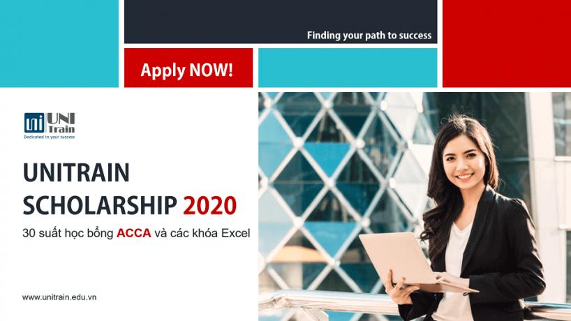 Học bổng UniTrain Scholarship 2020
