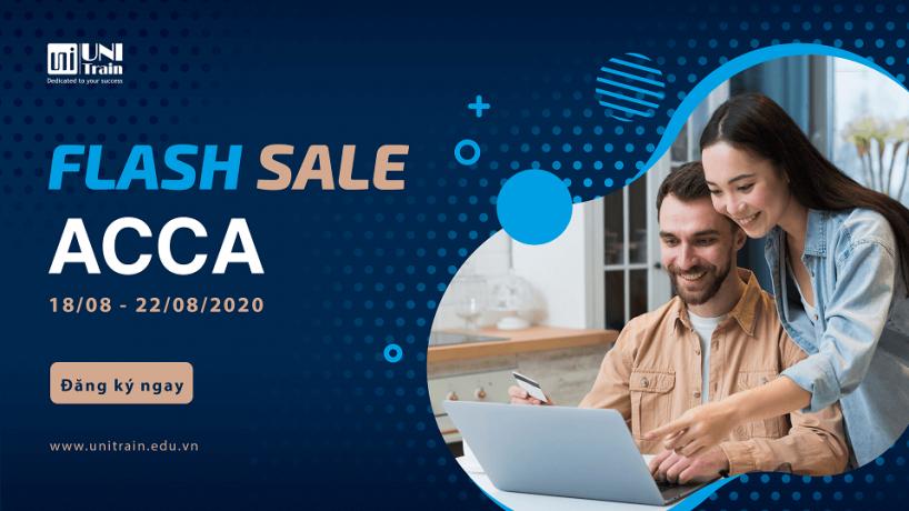 Chương trình Flash Sale ACCA