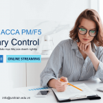 Workshop ACCA PM/F5 – Budgetary Control