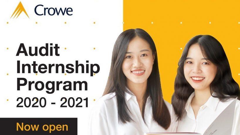 [Crowe Vietnam] Chương trình Thực tập sinh Kiểm toán 2020