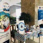 Bàn truyền thông của UniTrain tại sự kiện Sinh viên 5 tốt – Đại học Kinh tế Thành phố Hồ Chí Minh (UEH)