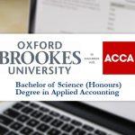Lộ trình chinh phục chương trình liên kết ACCA – Bằng cử nhân Kế toán ứng dụng của Oxford Brookes University