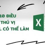 10 điều thú vị Excel có thể làm